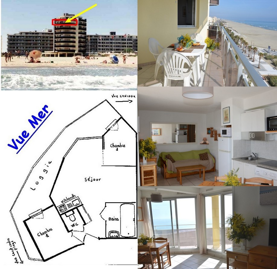 canet plage appartement
